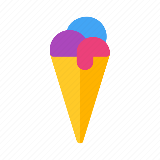 Cream, food, ice, round icon - Download on Iconfinder