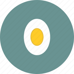 boiled, chicken, delicious, egg, food icon