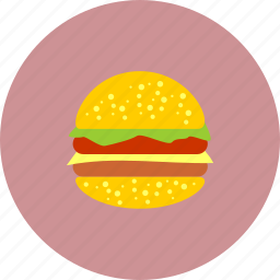 burger, delicious, eat, fastfood, food icon