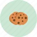 cake, chocolate, cookie, eat, food icon