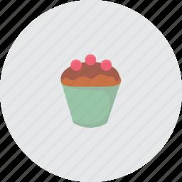 cake, cupcake, eat, food icon