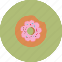 cake, donut, eat, food icon