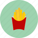 delicious, fastfood, food, french, fries icon