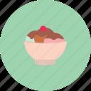 bowl, cream, delicious, food, ice