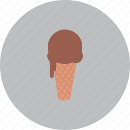 cone, cream, delicious, food, ice icon