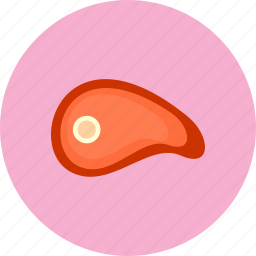 cow, eat, food, meat icon