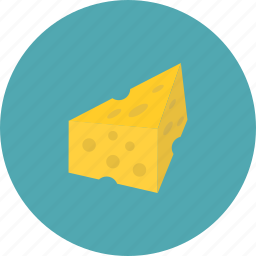 cheese, delicious, eat, food, of, pieces icon