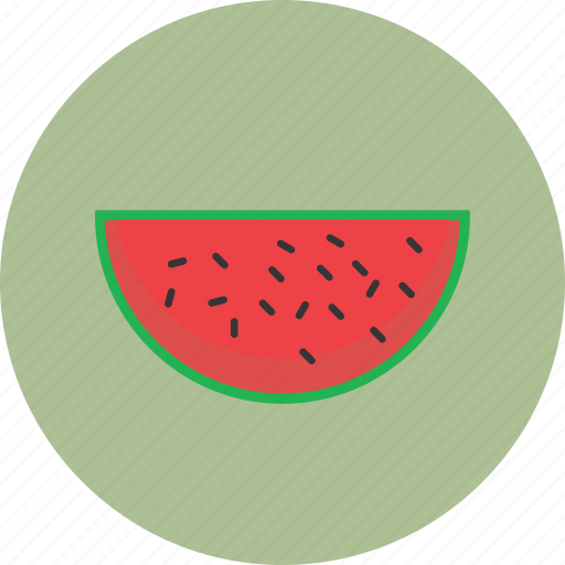 delicious, food, fruit, of, slice, watermelon icon