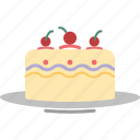 bakery food, cake, confectionery, dessert, pudding cake, sweet food icon