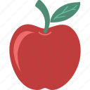 apple, fruit, healthy food, nutrition, organic, sweet icon