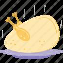 grilled food, chicken, roast chicken, roast, turkey roast