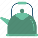 dishware, kitchen accessories, tea kettle, tea set, teapot icon