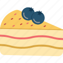 bakery food, berry cake, cake, cherry cake, dessert, sweet food icon