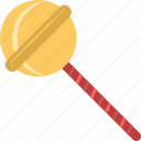 confectionery, lollipop, lolly, lolly stickc, sweet snack icon