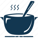 cooking pan, cooking pot, cookware, kitchenware, saucepan icon
