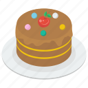 bakery food, cupcake, dessert, fairy cake, sweet muffin icon