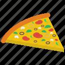 fast food, food, junk food, mayo pizza, pizza slice icon