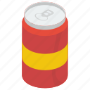 carbonated drink, cola tin, drink, soft drink, soft refreshing drink, sweetened drink icon