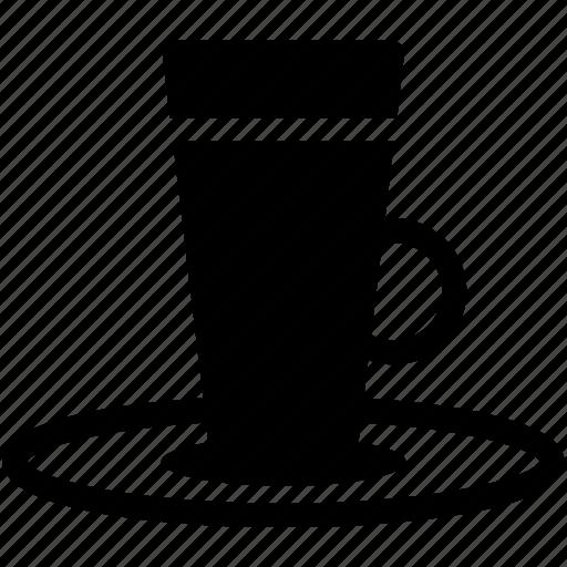 breakfast, coffe, coffe with milk, drinks, latte icon