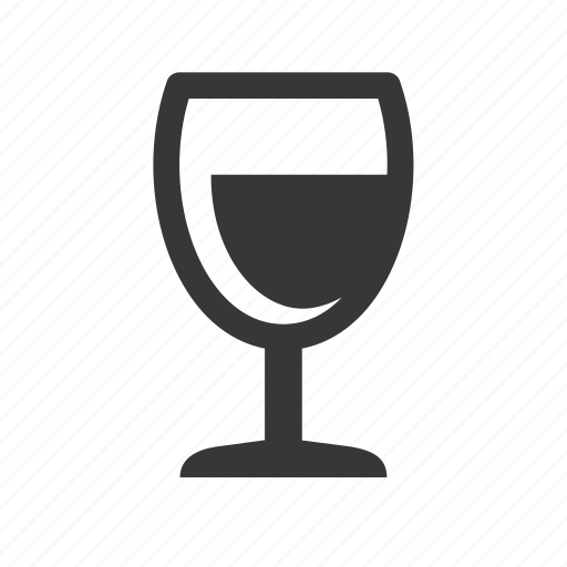 alcohol, drink, drinking, raw, simple, wine, wineglass icon
