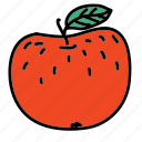 apple, food, fruit, healthy, taste icon