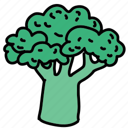 brocolli, food, meal, tree, vegetable icon