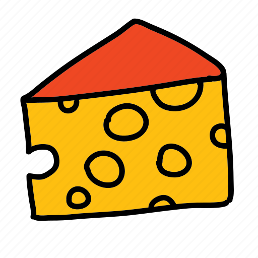 breakfast, cheese, food icon