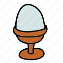 breakfast, egg, food, healthy icon