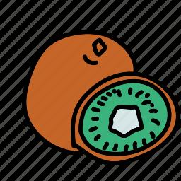 food, fruit, healthy, kiwi icon