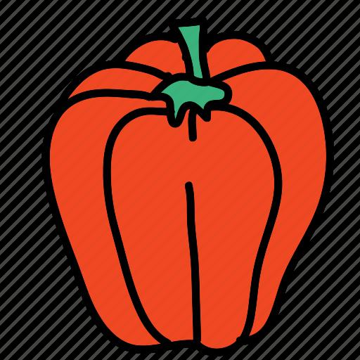 cook, food, ingredient, meal, paprika, vegetable icon