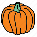 carve, food, ingredient, pumpkins, taste, vegetable icon