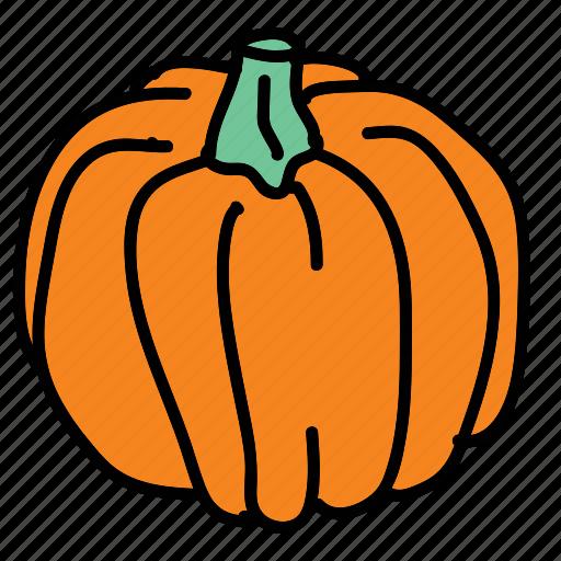 carve, food, ingredient, pumpkins, taste, vegetable icon