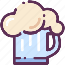 beer, drink, mug icon