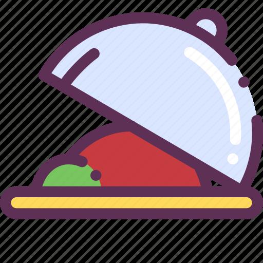 breakfast, dinner, lunch, serve icon
