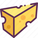 cheese, cook, pizza icon