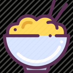 chineese, food, rice icon
