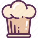 cooks, cap, cooking, kitchen icon