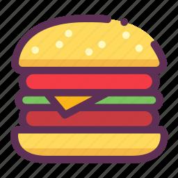 bread, fastfood, hamburger icon