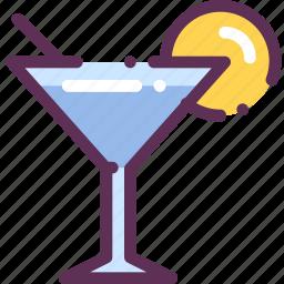 cocktail, lime, liqueur, martini icon