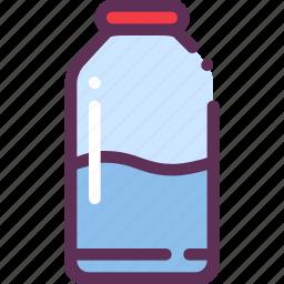 bottle, liquid, milk icon