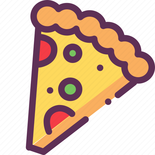 bread, cheese, fastfood, pizza, tomato icon