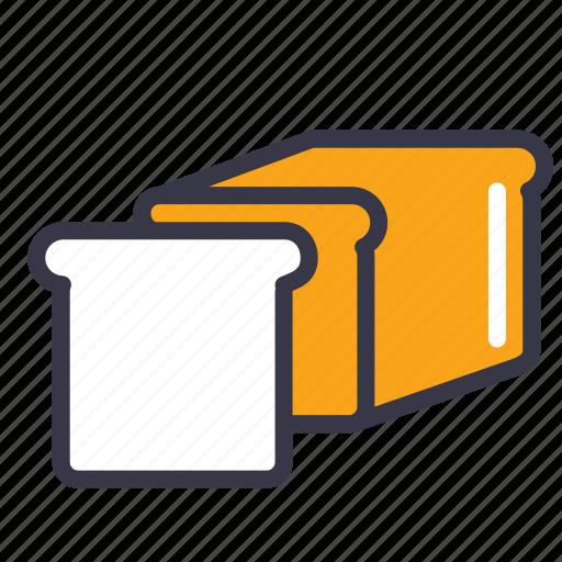 bakery, bread, breakfast, dinner, food, kitchen, toast icon