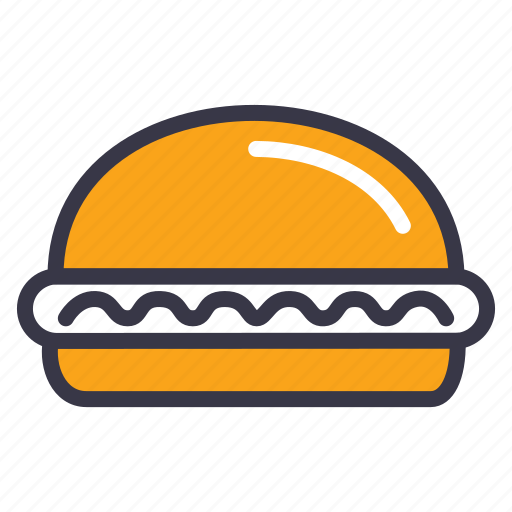 burger, double, fastfood, food, hamburger, kitchen, meal icon