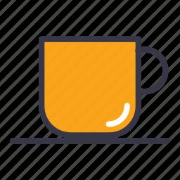 coffee, drink, espresso, food, kitchen, mug, tea icon