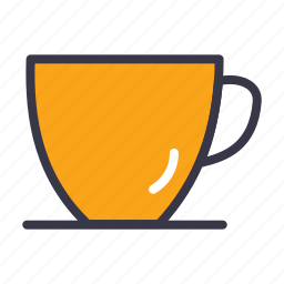 coffee, drink, espresso, food, kitchen, mug, tea icon