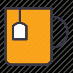 breakfast, coffee, food, kitchen, morning, mug, tea icon