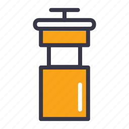 appliances, bottle, camping, food, kitchen, travel, water icon