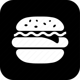 bun, burger, cooking, fast food, food, meal, sandwich icon