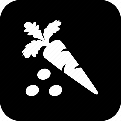 carrot, cooking, food, healthy, meal, peas, vegetable icon