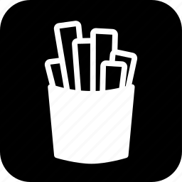 cooking, food, french fries, junk food, meal, potato icon